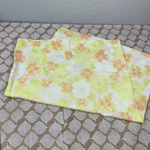 Vintage Floral Daisy Standard Pillow Case Yellow